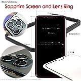 SAPPHIRE Screen M9 Protector 人工サファイア最強の画面保護 (6.5-inch iPhone 11 Pro Max, レンズリング 3P バンドル)