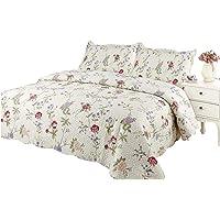 Pinsonic Bedding 3 Piece Bedspread Quilt Coverlet Set