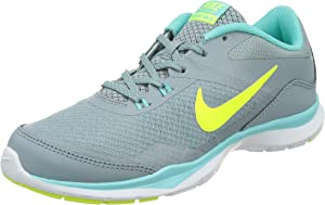 Nike Womens Flex Trainer 5 Running Shoe, Dove Grey/Light Aqua/Teal Tint