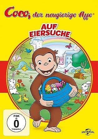 Coco Der Neugierige Affe Auf Eiersuche Amazon De Dvd Blu Ray