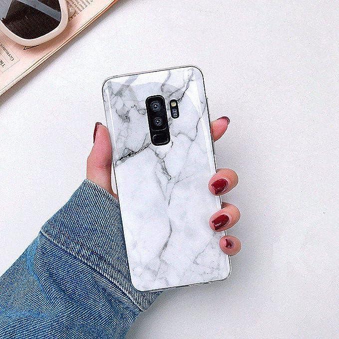 Capa on Coque pour Samsung Galaxy S9 Plus Marbre Silicone TPU ...