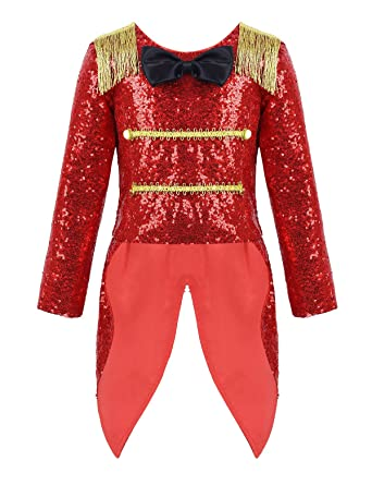 MSemis Disfraz Circo Ringmaster para Niñas Chaqueta Domador ...