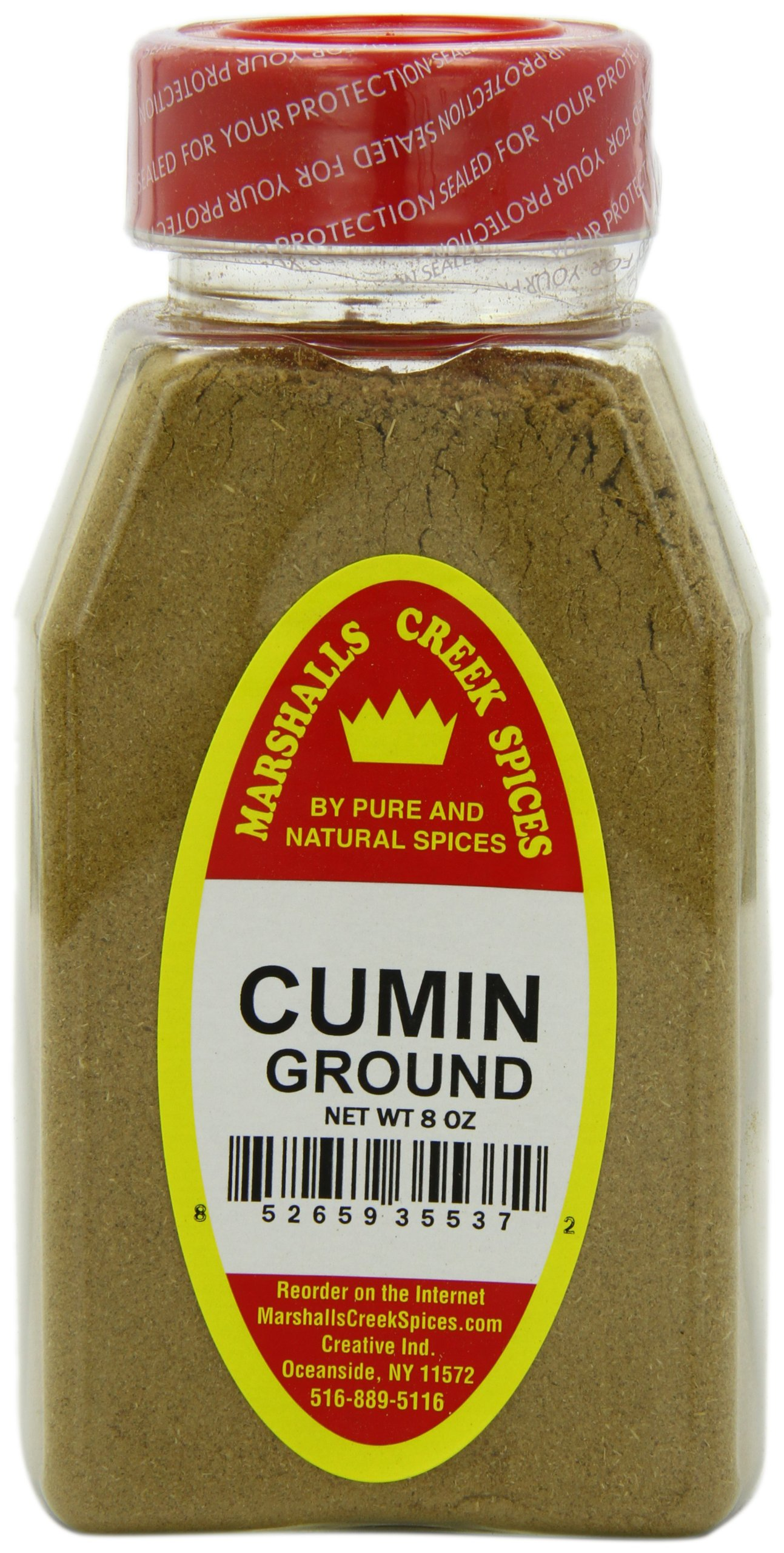 Marshalls Creek Spices Cumin Ground, 8 Ounce (Pack of 12)
