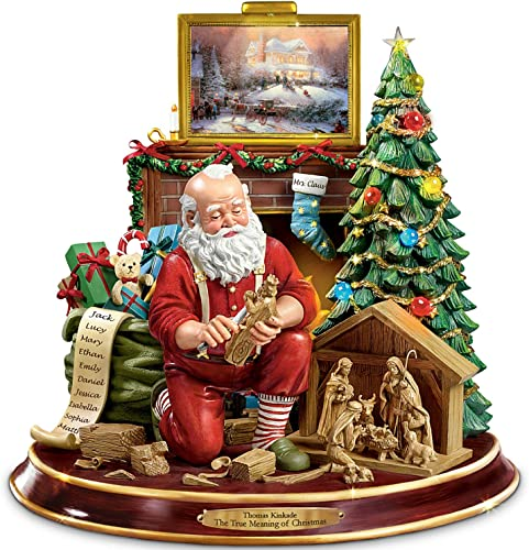 The Bradford Exchange The True Meaning of Christmas Tabletop Centerpiece