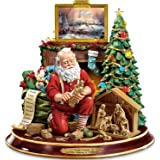 Thomas Kinkade The True Meaning Of Christmas Tabletop Centerpiece by The Bradford Exchange