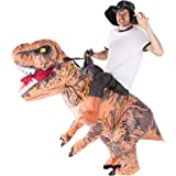 Bodysocks Adult Inflatable Deluxe Dinosaur Fancy Dress Costume
