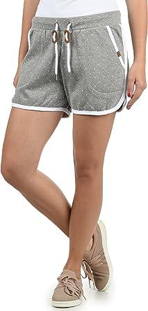 BlendShe Sanya Pantalón De Chándal Corto Sweat- Shorts para ...
