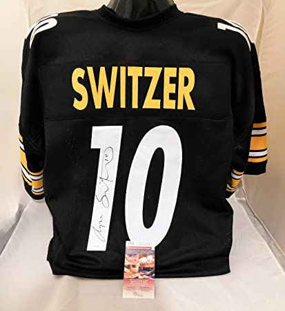 finest selection d2166 aba7c Amazon.com: RYAN SWITZER Signed/Autographed Pittsburgh ...