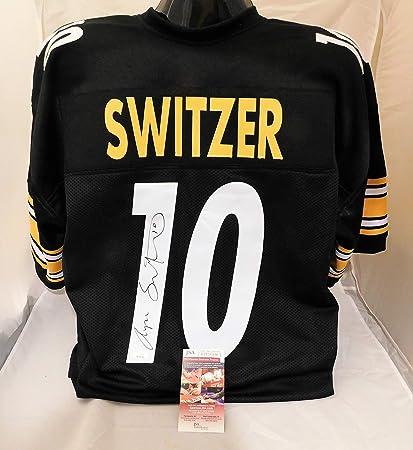 finest selection 7edbb 295dd Amazon.com: RYAN SWITZER Signed/Autographed Pittsburgh ...