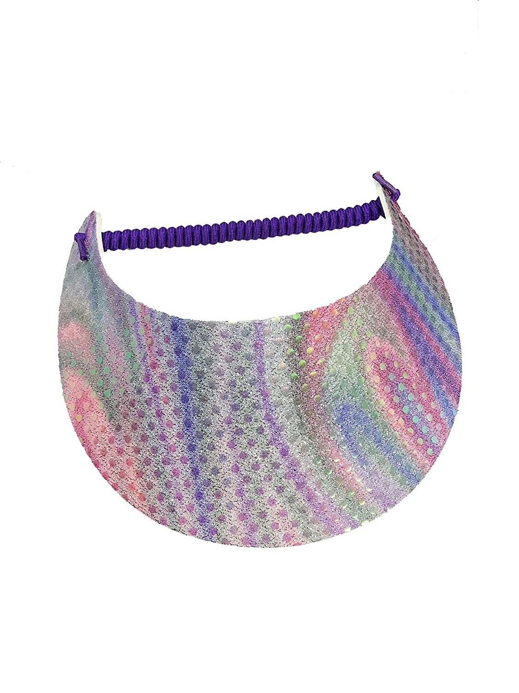 5d8256d94 Amazon.com: Pickleball - Fashion Fabric Foam Sun Visor for Women ...