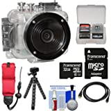Intova Connex HD Waterproof Video Action Camera Camcorder with 32GB Card + Floating Strap + Flex Tripod + HDMI Cable + Kit