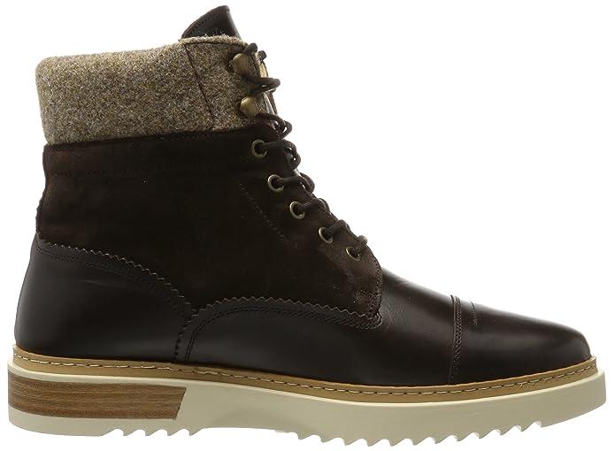 London Footwear - Aperte Sulla Caviglia uomo , marrone (Brown), 43 EU