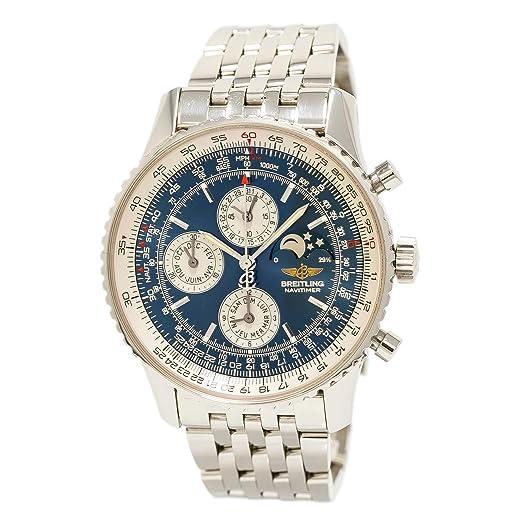 Breitling Navitimer automatic-self-wind Mens Reloj a19340 (Certificado) de segunda mano: Breitling: Amazon.es: Relojes