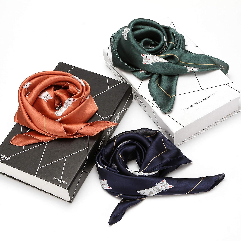 Folora Bufanda plisada de acorde/ón multiusos Pa/ñuelo de lunares de poli/éster de moda para mujer