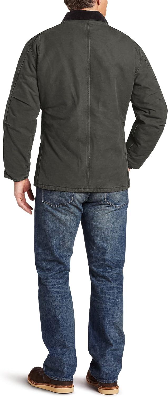 Carhartt Mens Big /& Tall Arctic-Quilt Lined Sandstone Duck Traditional Coat C26