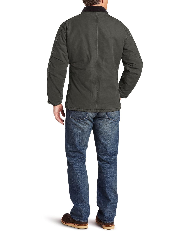 Carhart Workwear Sandstone Chaqueta de Trabajo 100//% algod/ón, 6 Bolsillos
