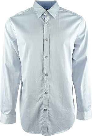 Hugo Boss Lukas - Camisa de Manga Larga para Hombre - Azul - XX-Large: Amazon.es: Ropa y accesorios