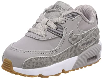 best cheap 4750d 04107 Nike Mädchen Air Max 90 SE Leather (TD) Gymnastikschuhe, Grau (Atmosphere  Grey
