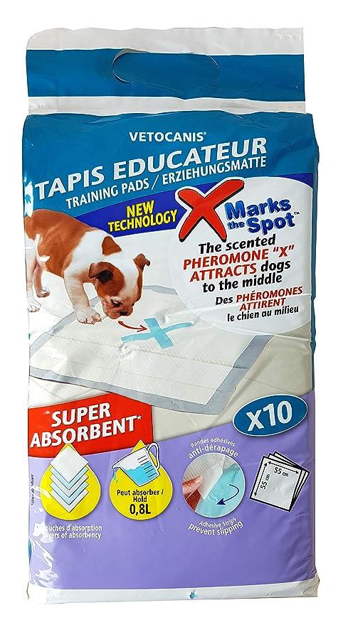 Vetocanis Tapis Educateur Absorbant Pour Chien Et Chat 55x55cm Par