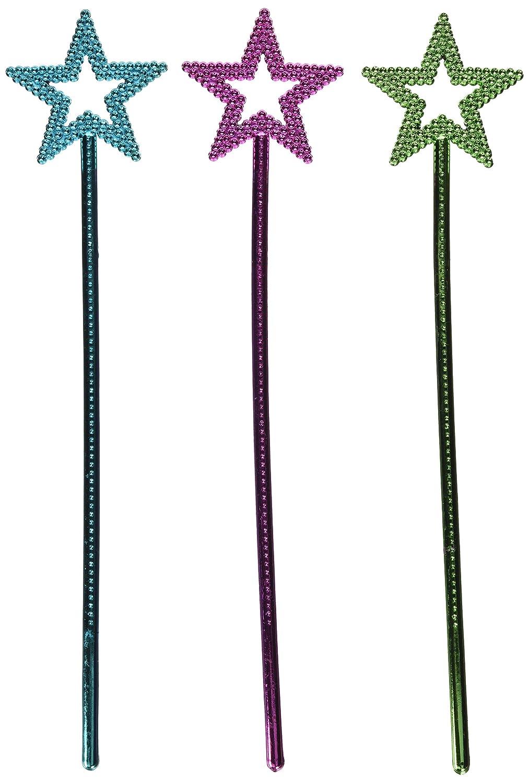 Rhode Island Novelty Metallic Star Wands (1 Dz) (1, 14.5) B003L4VH7M