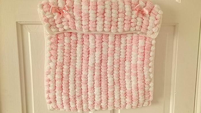 c59bb96ce BESPOKE ORDER - Pom Pom - Baby hand knitted pom pom bobble baby ...