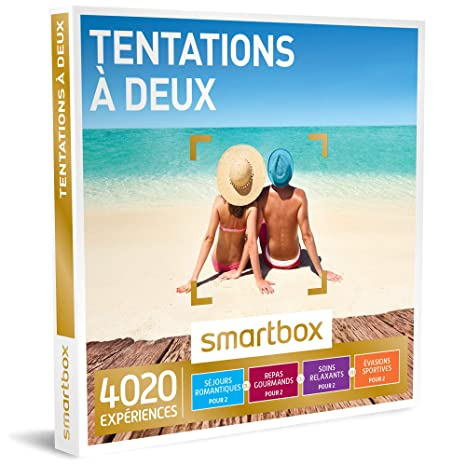 SmartboxTentations à deux –Caja regalo con 1540experiencias