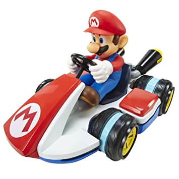 nintendo world of nintendo mario rc racer vehicle amazon co uk