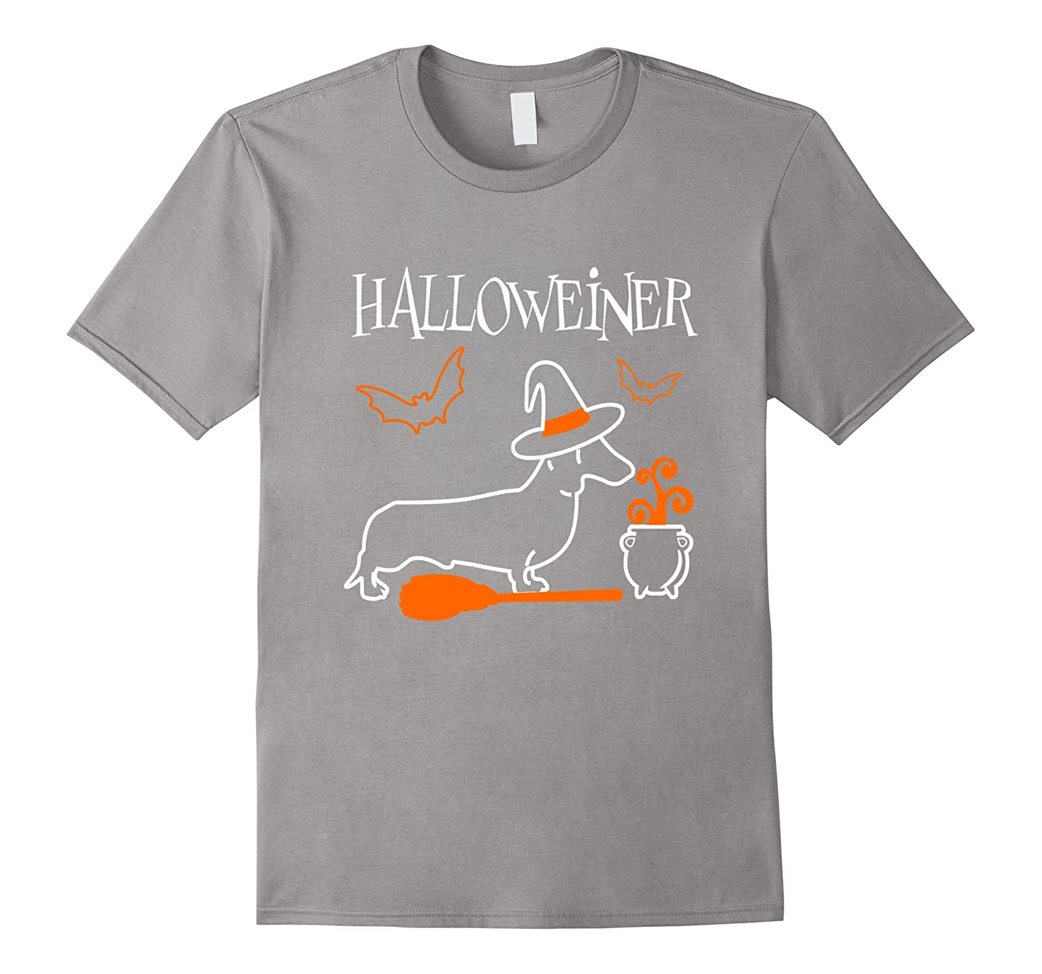 Dachshund Halloweiner T-Shirt Funny Halloween For Dog Lovers-RT