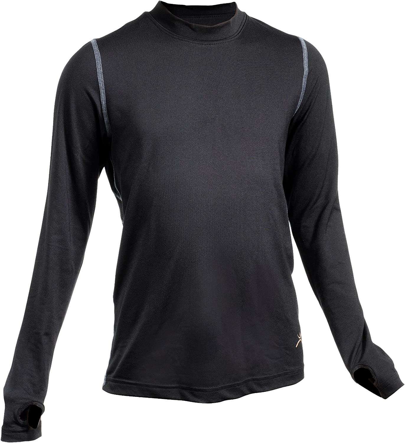 Terramar Thermolator Climasense 4-Way Stretch Brushed Crew Hoodie