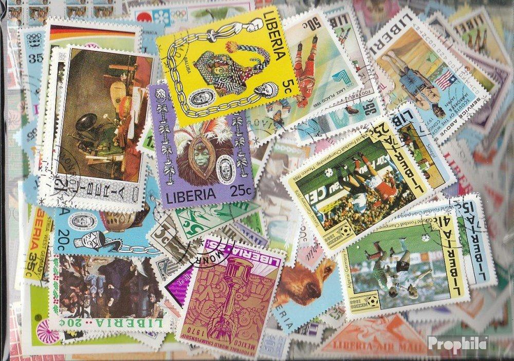 Prophila Collection Liberia 500 Diferentes Sellos (Sellos para los coleccionistas)