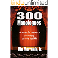 300 Monologues book cover