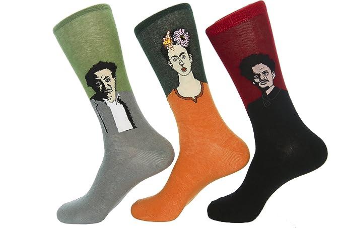 b91670a79 Amazon.com  Culture Sock Women s Frida Kahlo