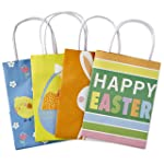 Hallmark Small Gift Bags Assortment, Happy Easter (Pack of 4)
