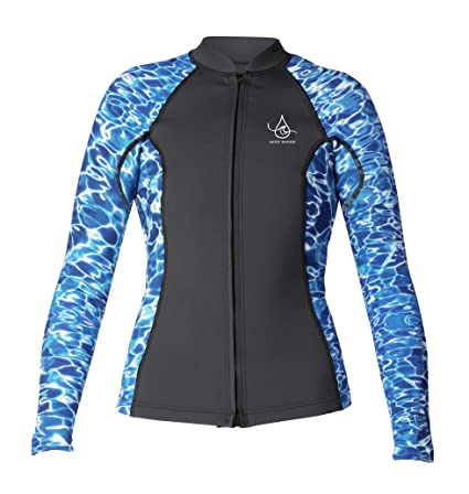 4753c8c451 Image Unavailable. Image not available for. Color  Xcel Axis Ocean Ramsey 2  1mm L S Front Zip Womens ...