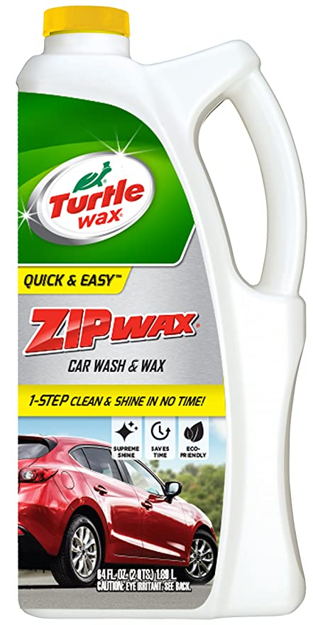 Turtle Wax T 79 Zip Wax Liquid Car Wash And Wax 64 Oz
