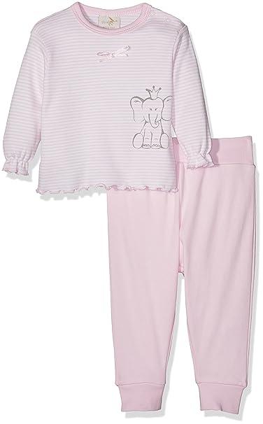 DIMO-TEX Babypyjama Girl Bio-Baumwolle, Conjuntos de Pijama para Bebés, (