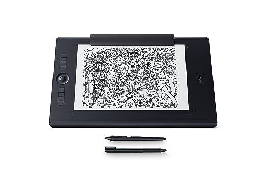 183 opinioni per Wacom Pthp-860-S Intuos Pro Paper Tavoletta Grafica con Penna Sensibile alla