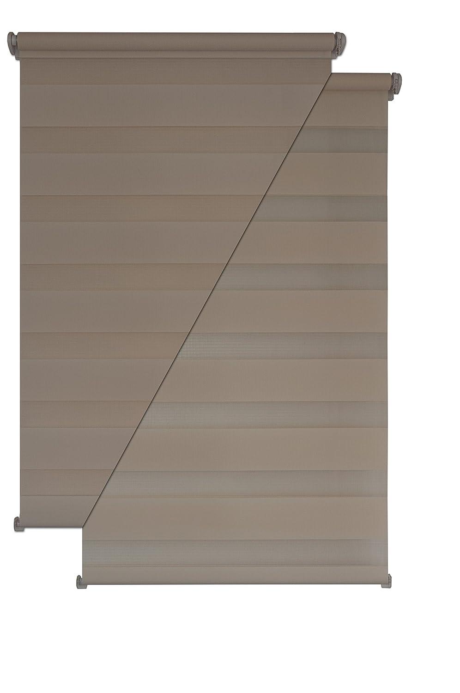 - Estor doble (Liedeco - Estor (80 x 200 cm beige Ventana Persiana (sin agujeros: Amazon.es: Hogar
