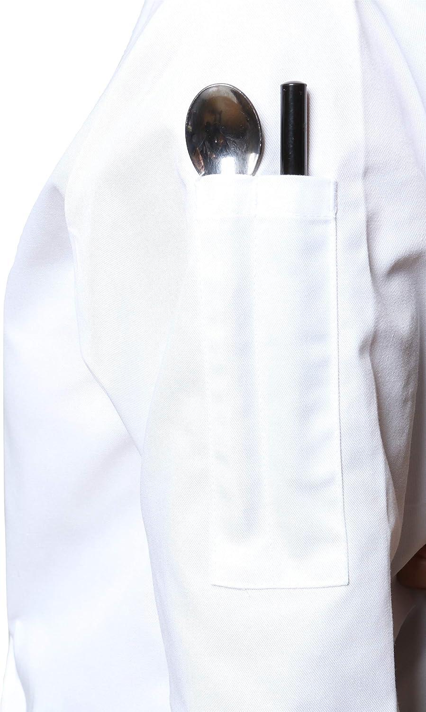 Mirabella Health /& Beauty Giacca Cuoco Unisex Oregano Manica Lunga