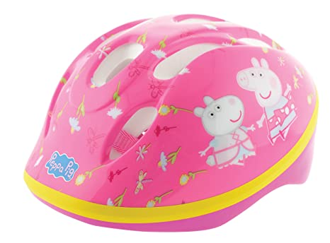 MV Sports Childs Safety Helmet - Peppa Pig - 3 Years+ - M13021
