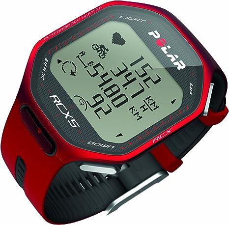 Polar Pack RCX5 Bike (Incluye Candence Sensor) - Reloj para triatlón con pulsómetro, Sumergible y Compatible con GPS, Sensor de zancada, de cadencia y de Velocidad (Rojo): Amazon.es: Deportes y aire libre