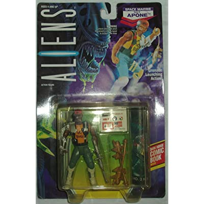 Aliens Kenner Vintage 1992 Action Figure Space Marine Sgt. Apone Grenade Launching: Toys & Games