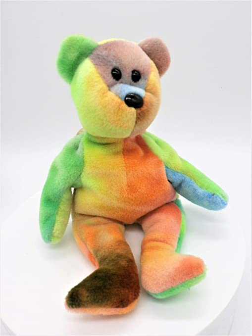 acbc5791dea Amazon.com  Ty Beanie Bear Garcia VERY RARE by Beanie Babies  Toys   Games