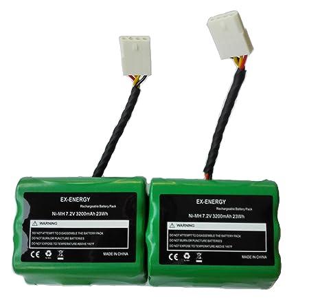 EX-ENERGY 7.2V 3200mAh Batería Compatible Neato XV-11 XV-12 XV-14 XV ...