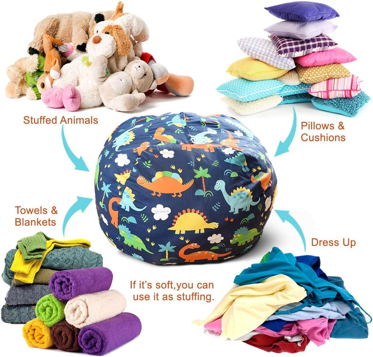BROLEX Extra Large 38'' Stuffed Animals Bean Bag Chair ...