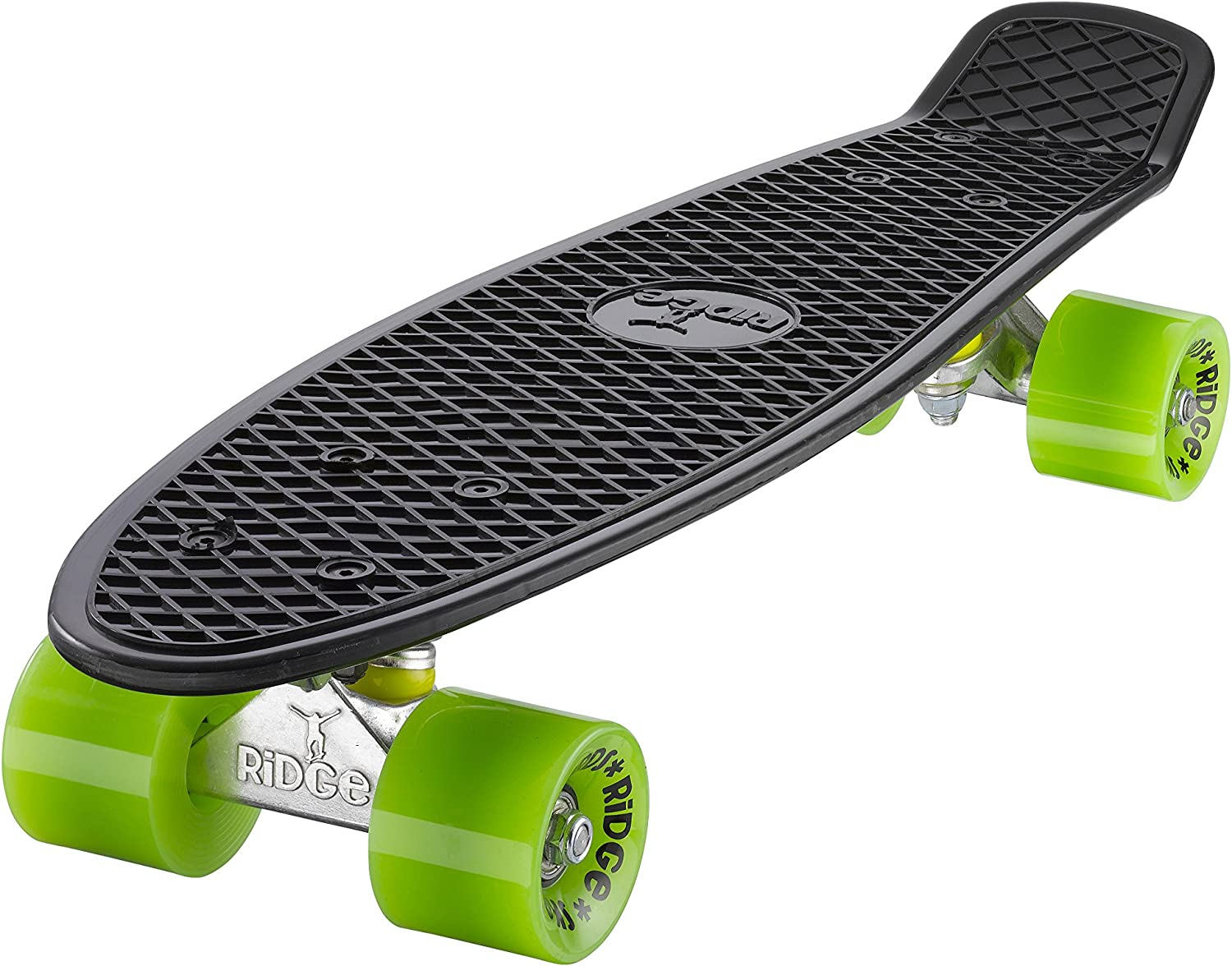 Ridge Retro Cruiser Board Black Green / UK
