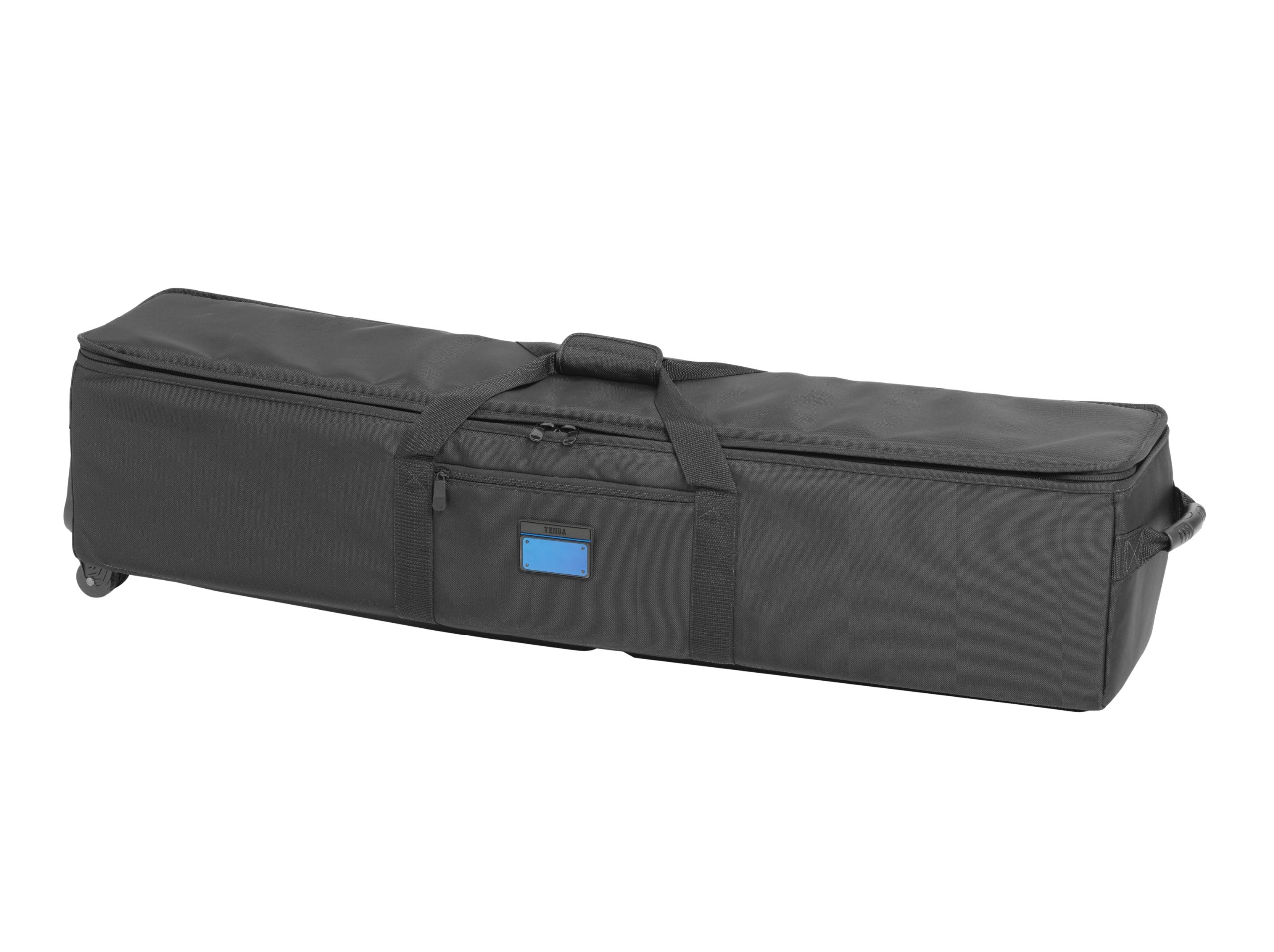 Tenba Transport 48in Rolling Tripod/Grip Case (634-519) Padded Equipment Case with Weatherproof Nylon & Padded Interior by Tenba