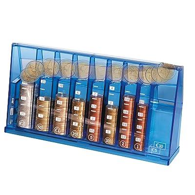 BETEC 1255 Clasificador de monedas euro - Hucha decorativa: Hogar