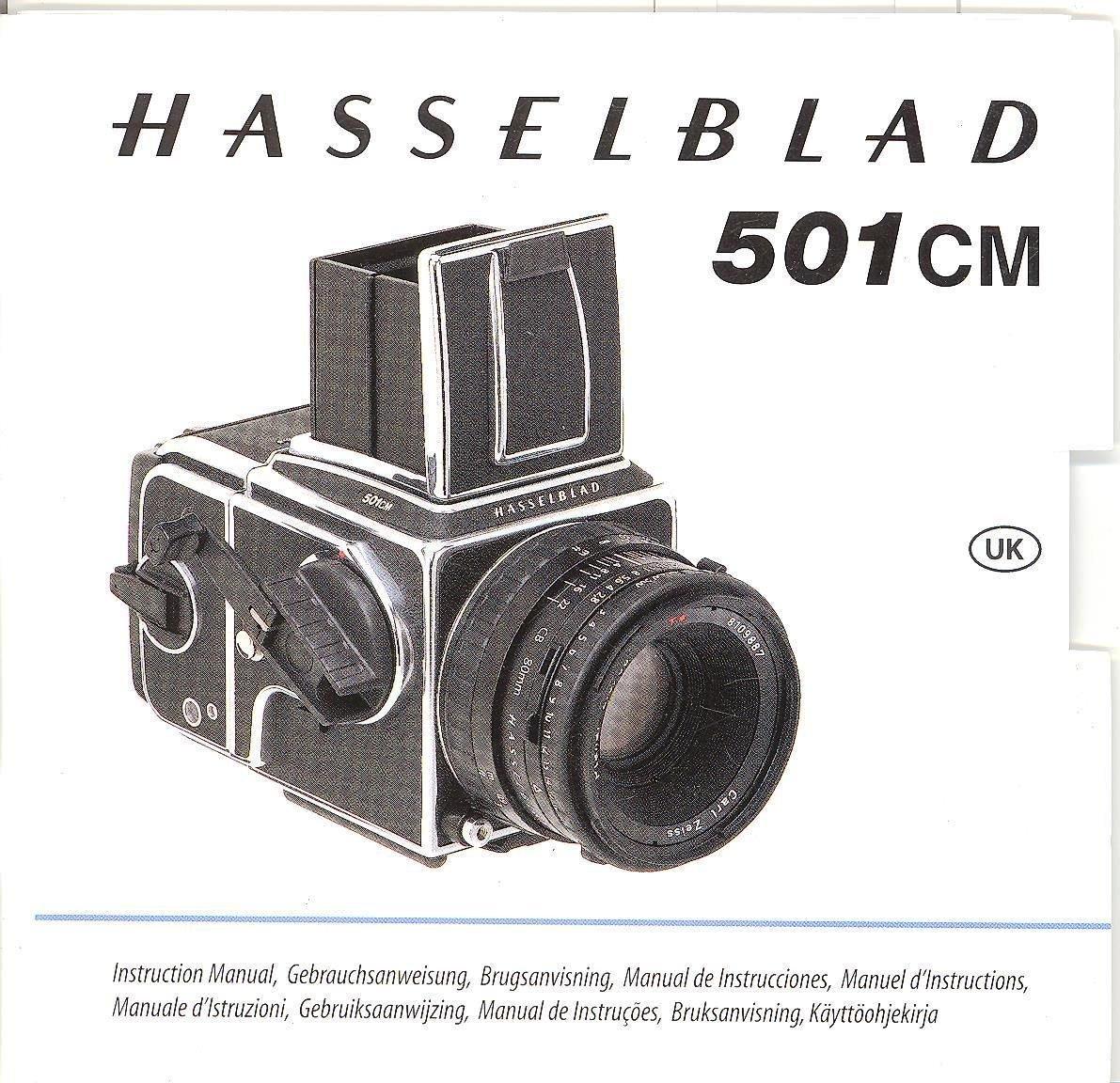 Hasselblad 501CM Original Instruction Manual: Amazon com: Books