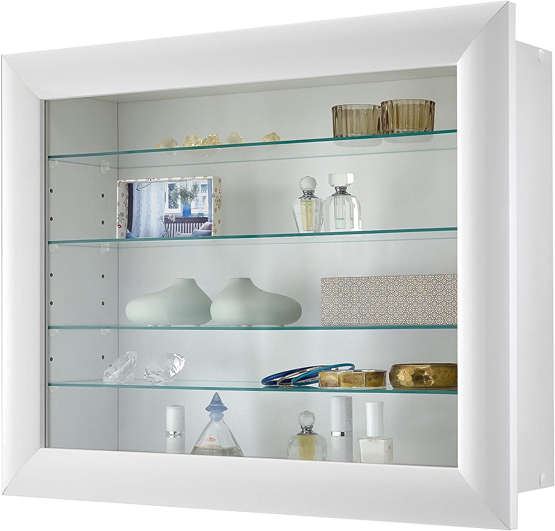 Fmd Cristal B05 Vetrinetta Bianco 62.5 x 17.5 x 50 cm